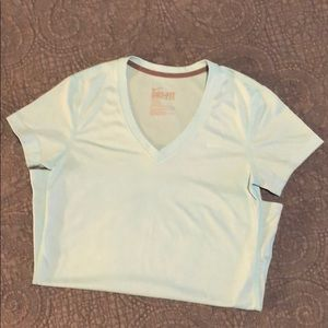 Nike Dri-fit v-neck tee. Like new.